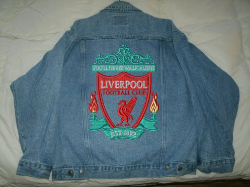 Liverpool FC jacket for sale